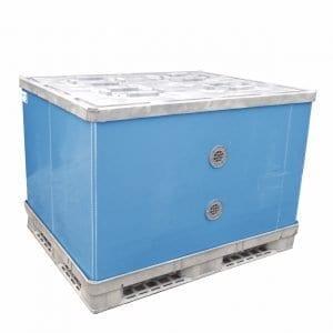 Container Blau
