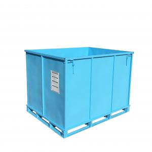 MetallBox Blau