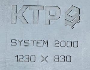KTP Aufschrift